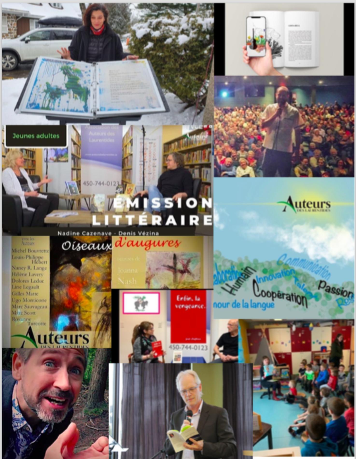 Association des auteurs des Laurentides/20 ans