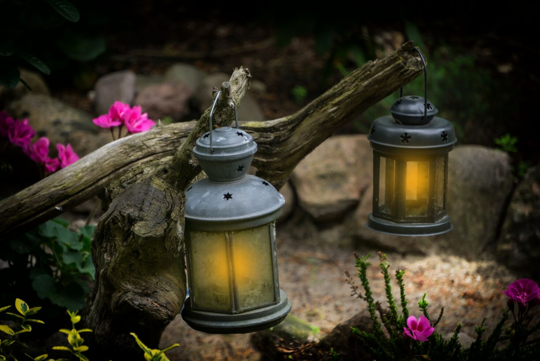 Maison et jardins Antoine-Lacombe/Visite à la lanterne