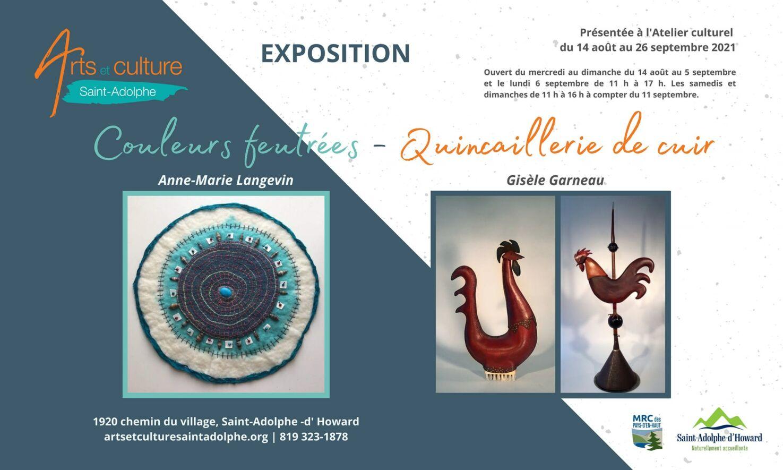 Arts et Culture St-Adolphe Août 2021