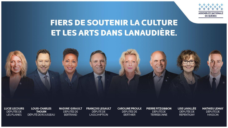 Les députés de Lanaudière